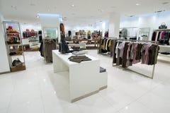 Interior of shopping mall Stock Photos
