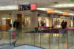 Interior of shopping mall   Four Seasons Royalty Free Stock Image