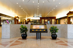 Interior of the shopping mall Stock Images