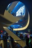 Interior Shopping mall MyZeil in Frankfurt, Germany Stock Photo