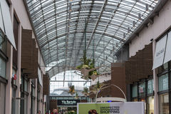 Interior Shopping Mall of the Ruhr Park in Bochum. Stock Image