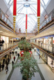Interior of a shopping mall in Turkey Royalty Free Stock Photography