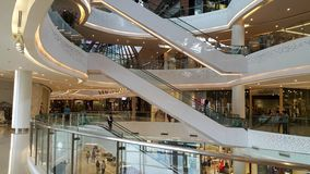 Interior shopping mall Zpell Future Park. Thailand Stock Image