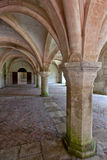 Interior shot in the Abbaye de Fontena Royalty Free Stock Images