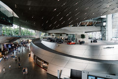 Interior shot of BMW Welt in Munich Royalty Free Stock Photo
