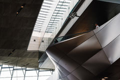 Interior shot of BMW Welt in Munich Stock Images