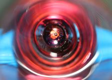 Interior of shot glass stock photos