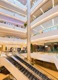 Interior of Siam Paragon Shopping mall, Bangkok City. BANGKOK - MARCH 17, 2016 : The interior of the Siam Paragon Shopping mall. It is one of the biggest Royalty Free Stock Photography