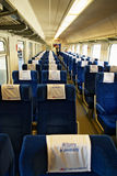 Interior of single compartment car Stock Photos
