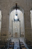 Interior of Siracusa cathedral Royalty Free Stock Image