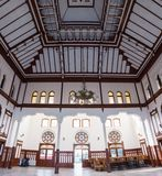 Interior Sirkeci railway station Stock Photography