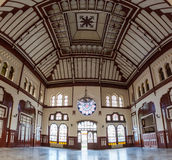 Interior Sirkeci railway station Stock Image