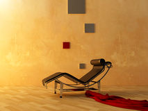 Interior - sitio de relajación del estilo moderno libre illustration