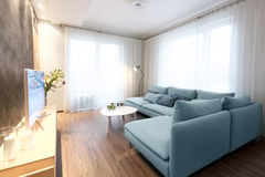 Interior - sitting room Stock Images