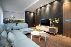 Interior - sitting room Stock Photo