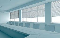 Interior sketch Stock Photos