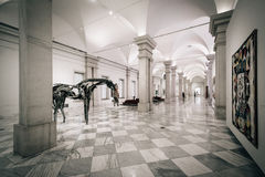 The interior of the Smithsonian American Art Museum, in Washingt Stock Image