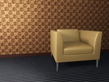 Interior (Sofa). This graphic is interior objects Stock Photos