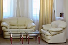 Interior of the living room. Stock Images