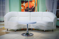Interior sofa and table Royalty Free Stock Photos