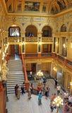 Interior of Solomiya Krushelnytska State Academic Opera and Ballet Theatre, Lviv, Ukraine Stock Photography