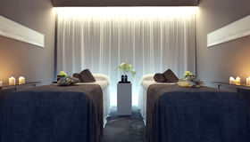 Interior spa salon Royalty Free Stock Image