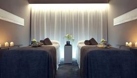 Interior spa salon. 3d render Royalty Free Stock Image