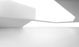 Interior space. Vector illustration of white space Royalty Free Stock Photography