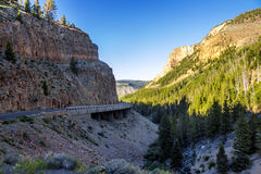 The interior space yellowstone national parks, USA Stock Photography