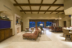 interior Of Spacious House royalty free stock photography