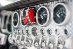 Interior of a Spijker sportscar Stock Image