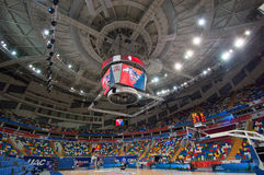 Interior of Sport arena Megasport, Moscow, Russia stock photo