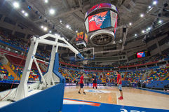 Interior of Sport arena Megasport, Moscow, Russia stock photography