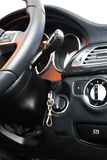 Interior sport car Royalty Free Stock Photo