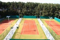 Interior of sport tennis club Stock Photography
