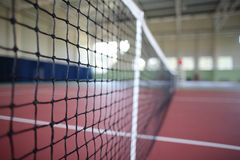 Interior of sport tennis club Stock Images