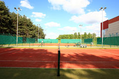 Interior of sport tennis club Stock Photography