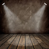 Interior with spotlights Royalty Free Stock Images