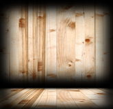 Interior spruce planks wood backdrop Royalty Free Stock Images