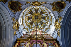 Interior of St. Andrew's church in Kiev Stock Photography