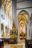 Interior of St. Elisabeth cathedral in Kosice Royalty Free Stock Photos
