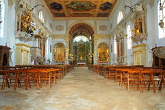 Interior of St. George church, Royalty Free Stock Photos