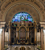 Interior of St Georges Hall, Liverpool,. UK Royalty Free Stock Image