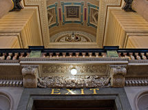 Interior of St Georges Hall, Liverpool, UK Stock Image