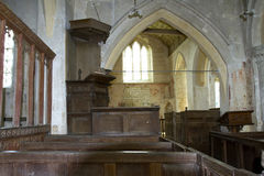 Interior of St John the Baptist Church Stock Photo