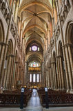 Interior of St. John's Cathedral of Lyon Royalty Free Stock Photo
