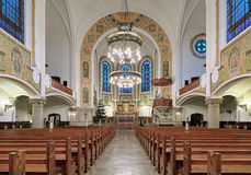 Interior of St. John`s Church in Malmo, Sweden Royalty Free Stock Image