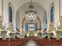 Interior of St. John's Church (Sankt Johannes kyrka) in Malmo, Sweden Stock Images