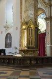 Interior St. Lorenzo Cathedral. Perugia. Umbria. Stock Photo