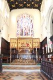 Interior of St Margaret's Church, Westminster Abbey. Stock Photos